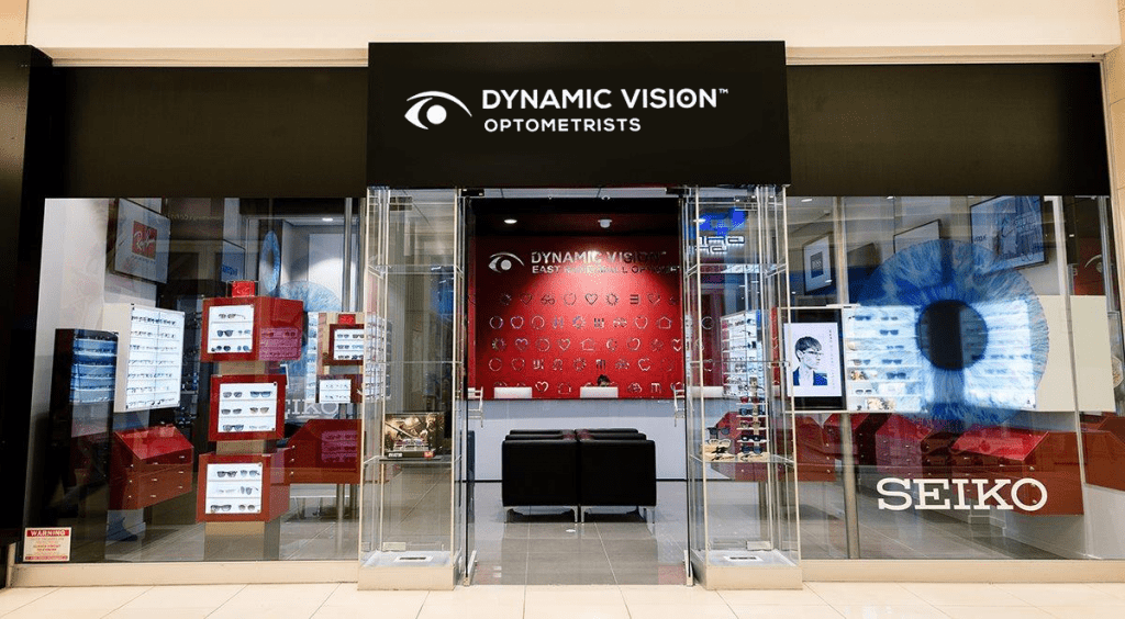 Dynamic Vision shop front